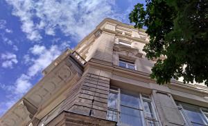 Дом на Университетской площади и его двор