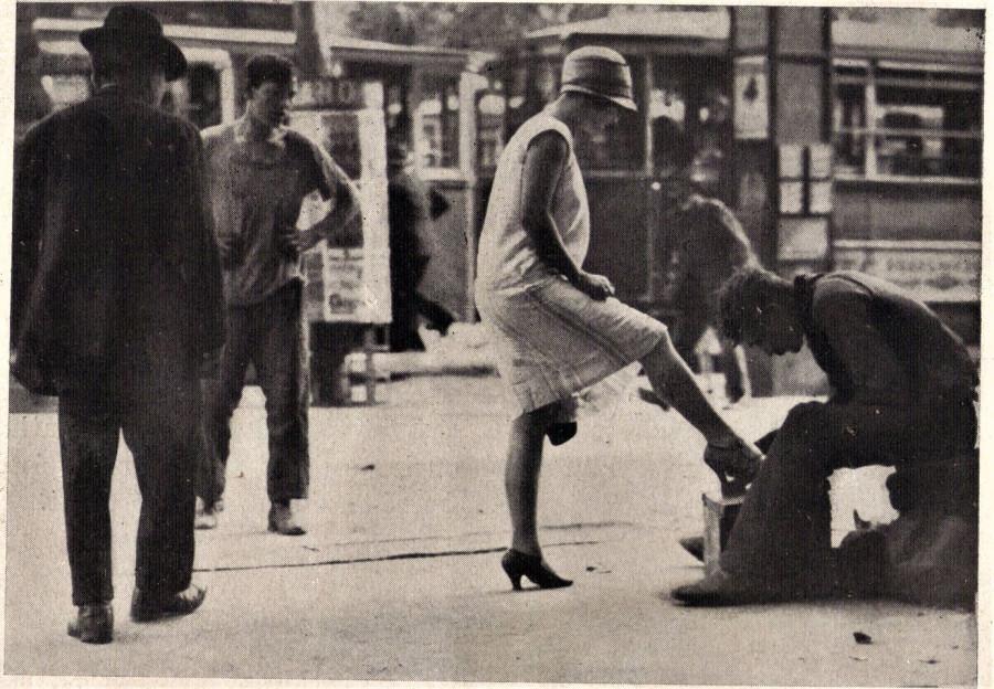 Kép A Magyar Magazin 1929. őszi, Budapest szépségeit bemutató fényképsorozatából.