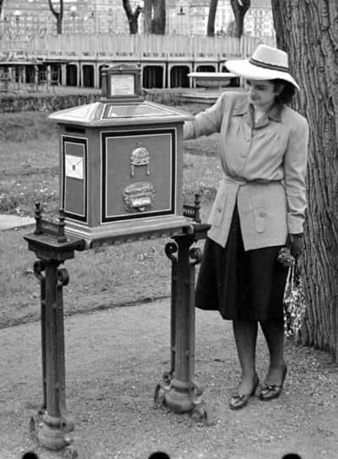 1930 -as évek, A Margitsziget, koronás levélláda