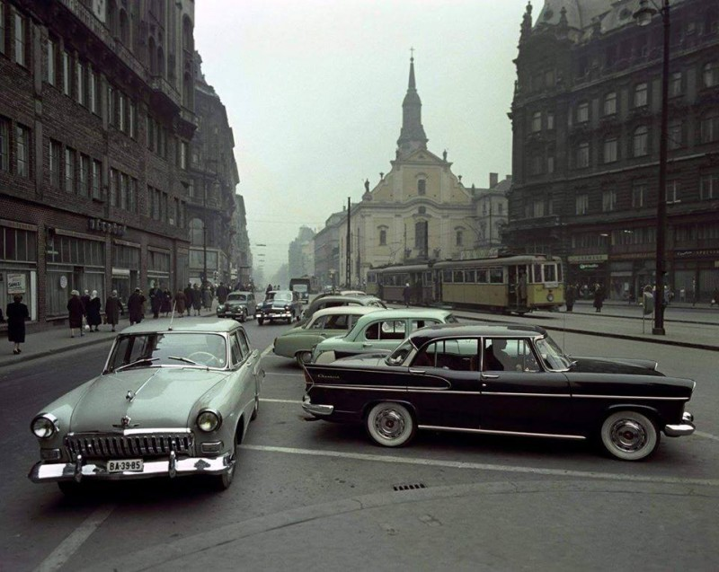 A Ferenciek tere ( Felszabadulás tér ) 1961.
