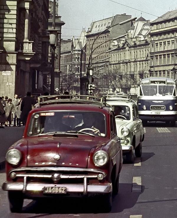 cErzsébet (Lenin) körút, 1961