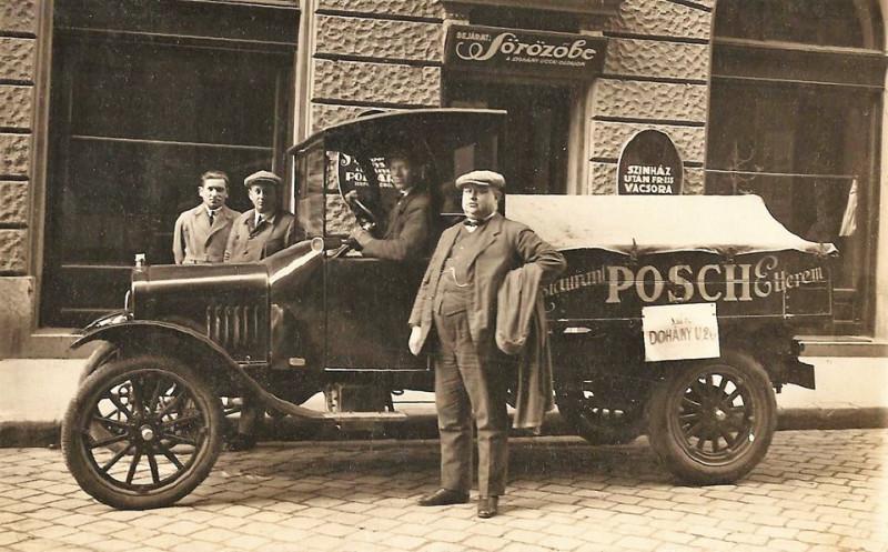Budapest, Dohány utca 20.Posch Söröző,1922.