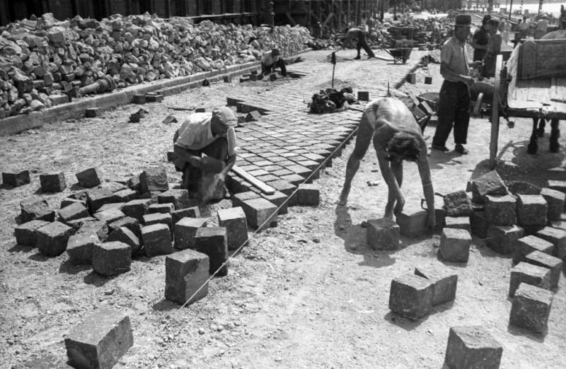 1950. Magyarország, Budapest IX. Fővám (Dimitrov) tér. f