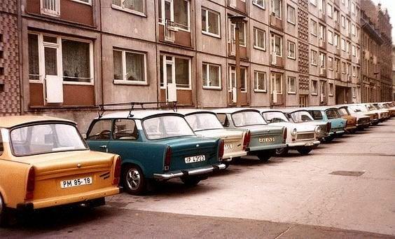 Trabant és panellakás idill a 70-es években