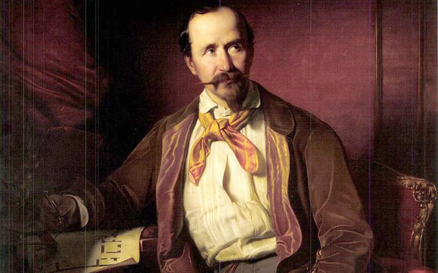 bBorsos_Portrait_of_Mátyás_Zitterbarth_1851