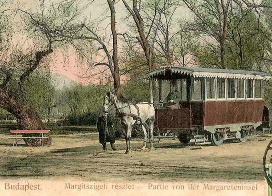 1Margitszigeti_lóvasút 1900