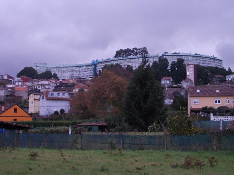 На входе в Vigo, идем по паркам