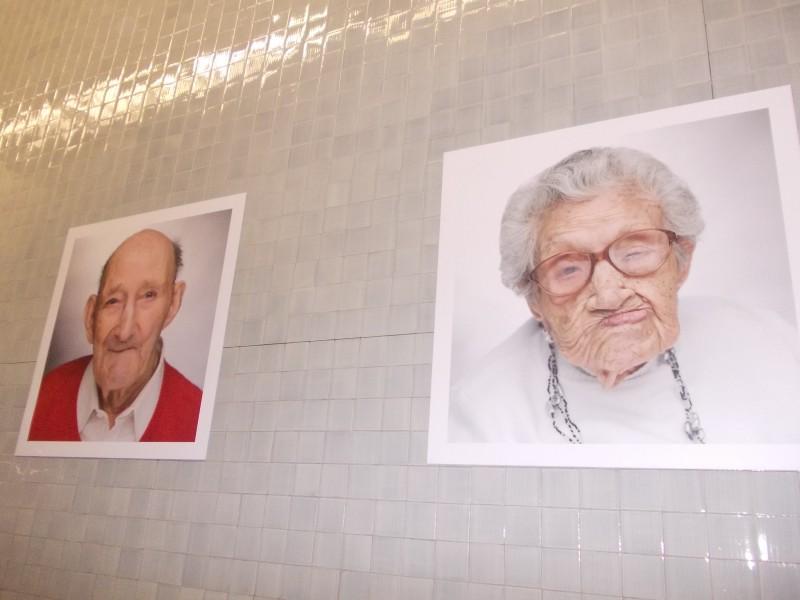 Фото-проект в метро Порто, такая ненавязчивая социальная реклама
