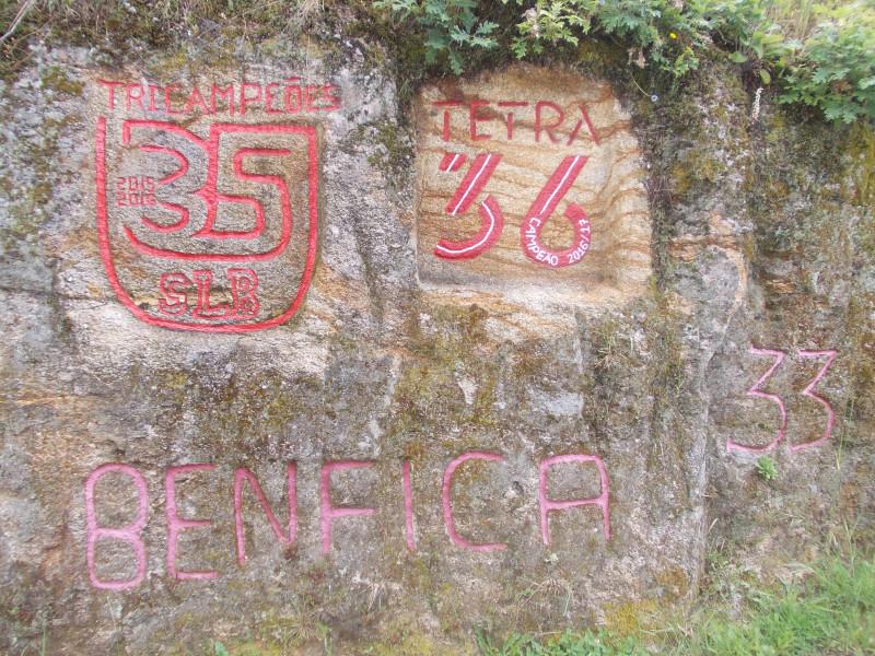 А тут живут болельщики футбольного клуба Benfica