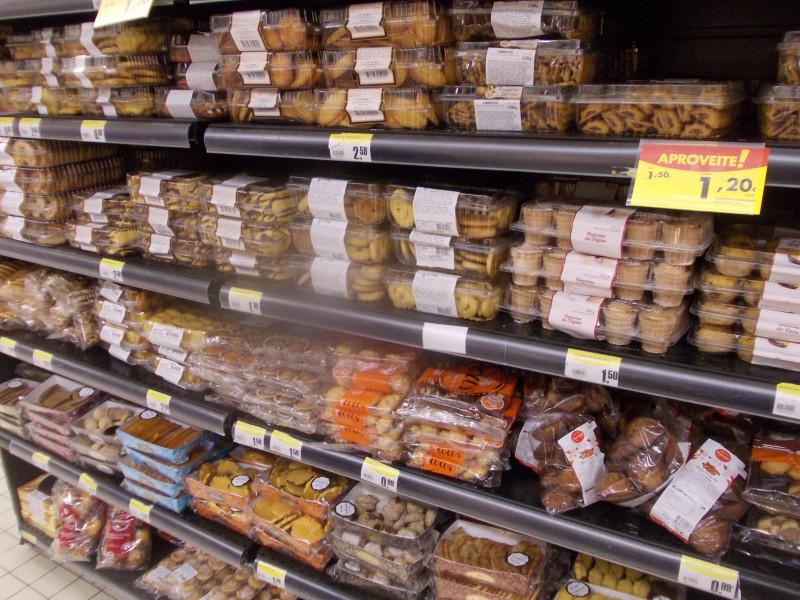 россыпь португальских печенюшек