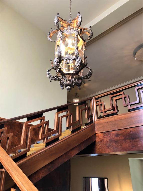 Фрагмент парадной лестницы в частные покои хозяев