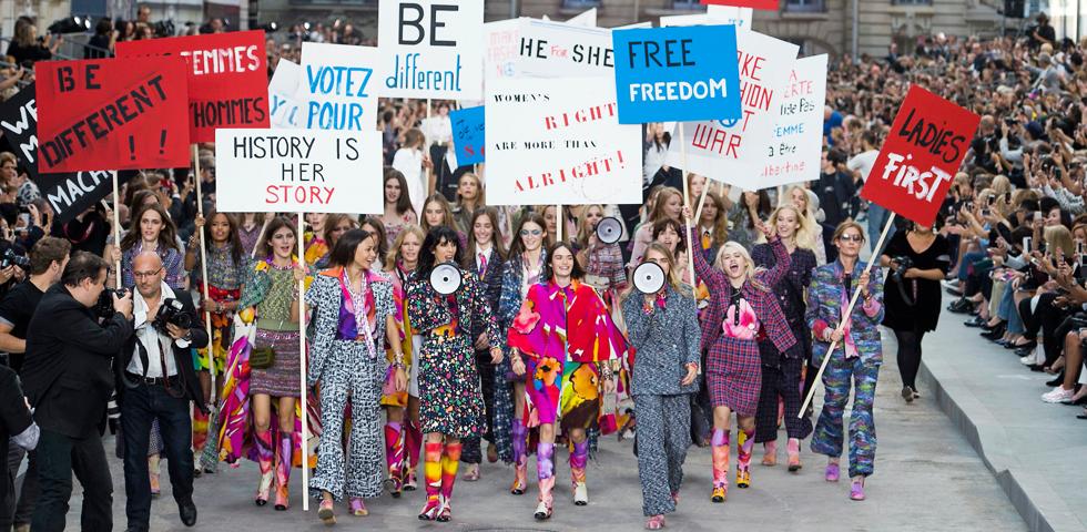 Feminist but feminine — везде, но только не в Италии