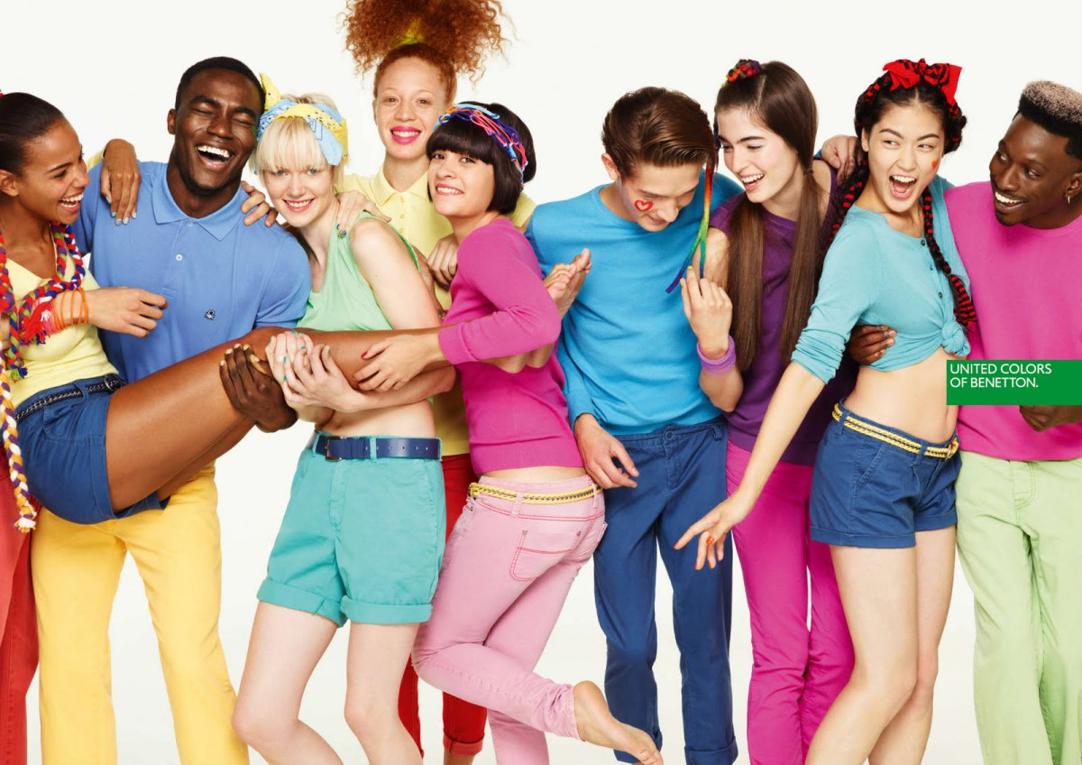 Про яркий цвет, моду, рекламу и равенство&братство