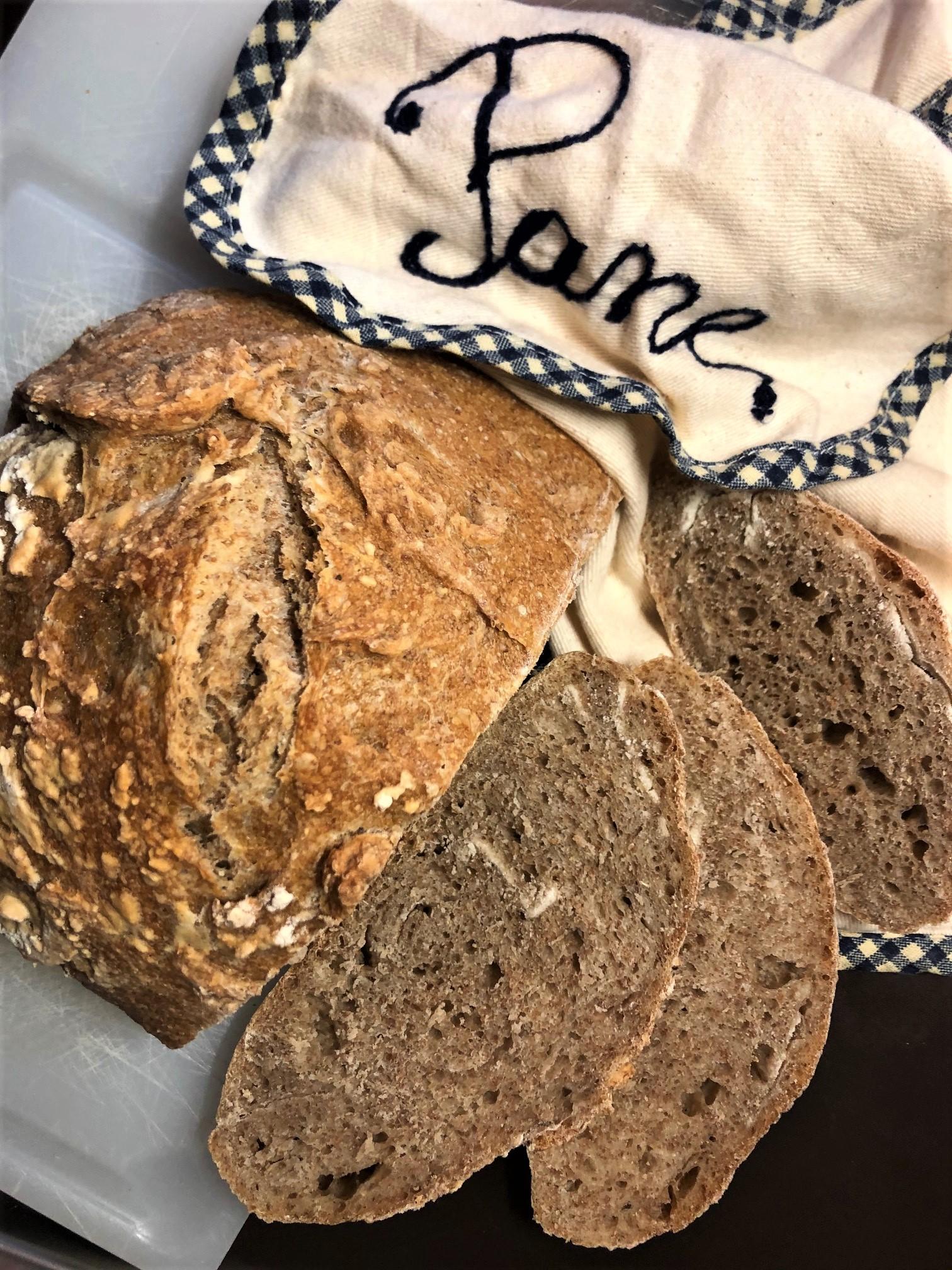Съесть хлеб до последней крошки!