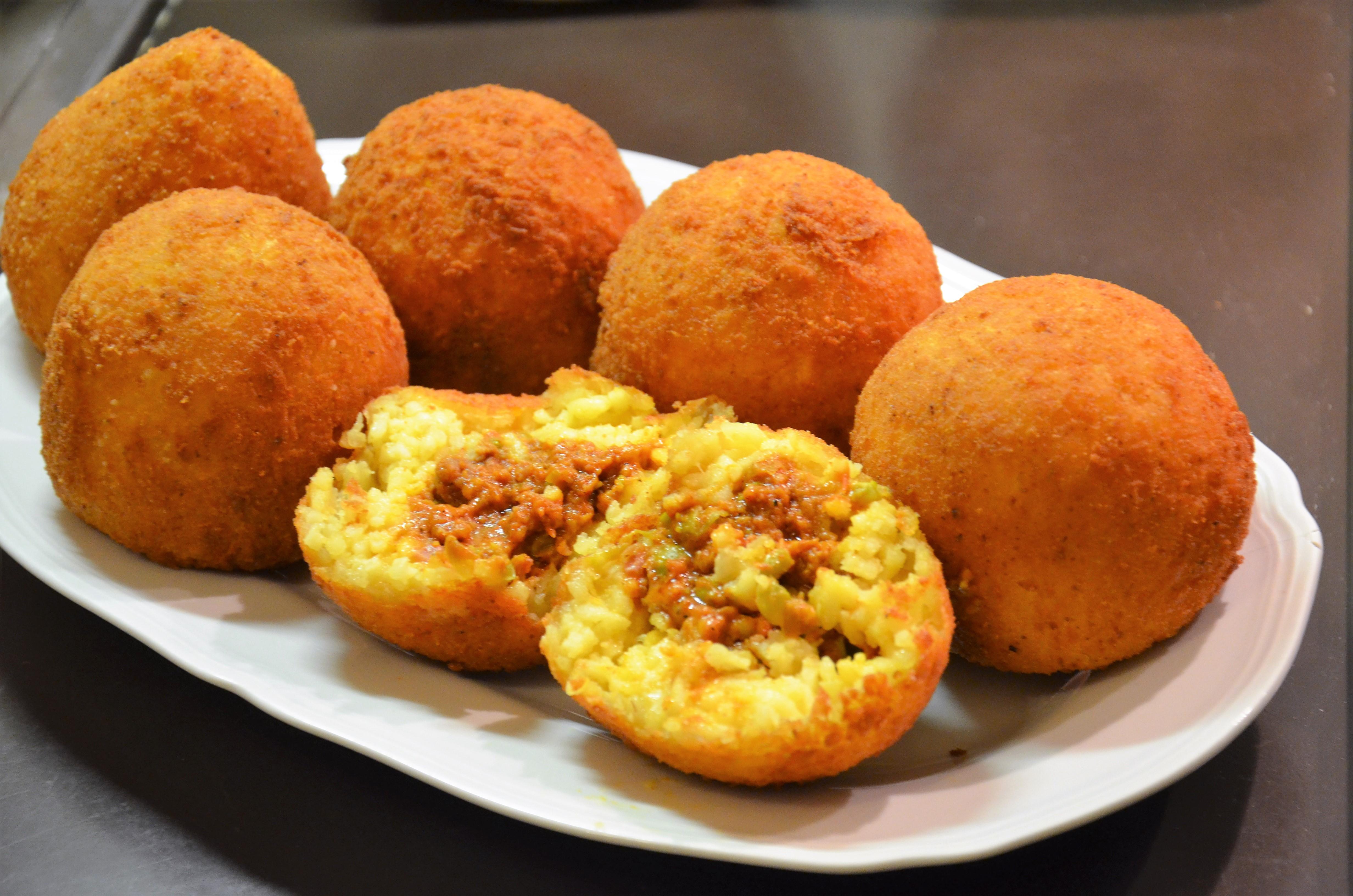 Рис & Co: готовим дома сицилийские «апельсинчики» из того, что под рукой!