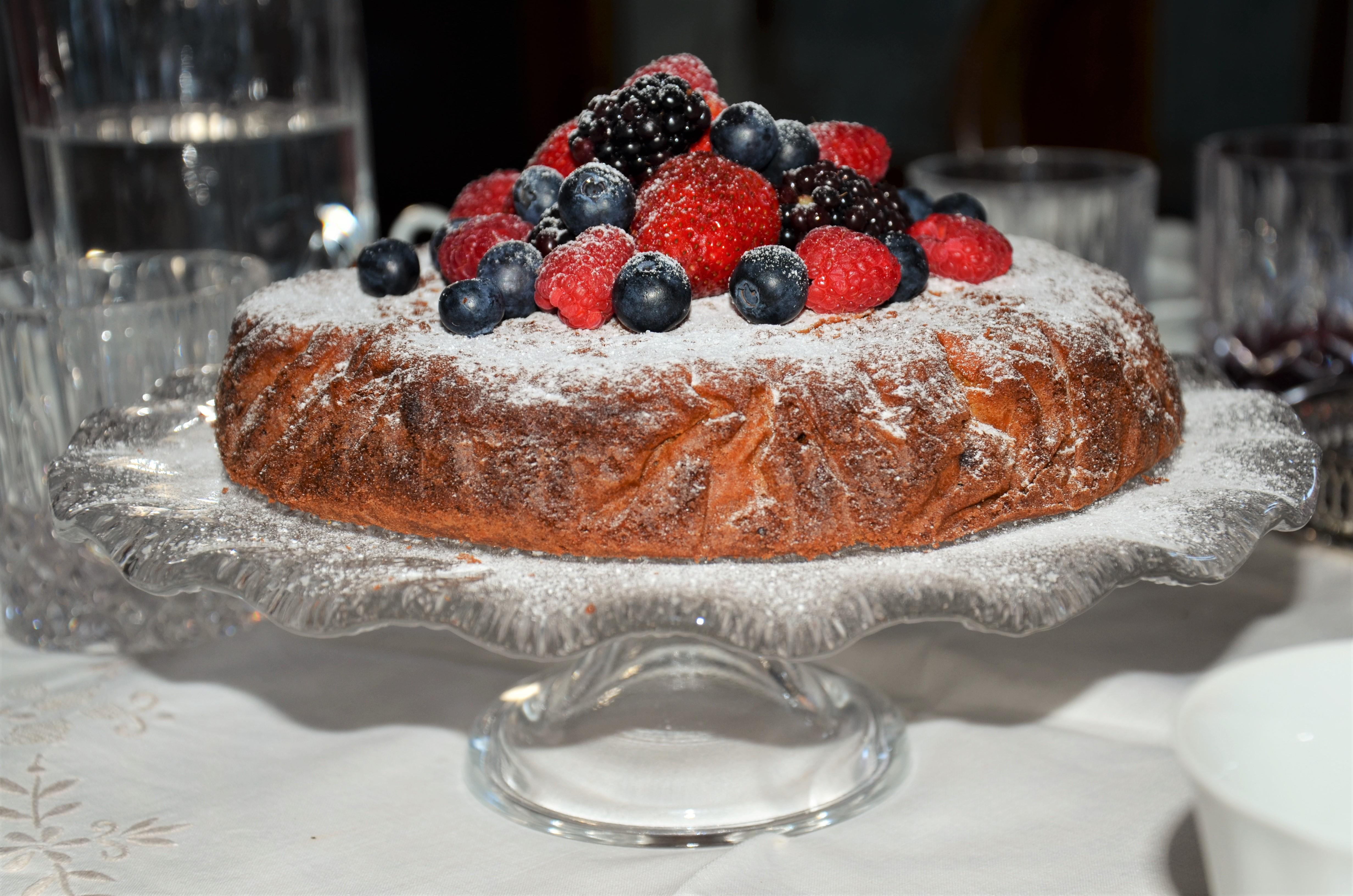 Butter cake по-итальянски & неприличный анекдот про то, как делают сливочное масло