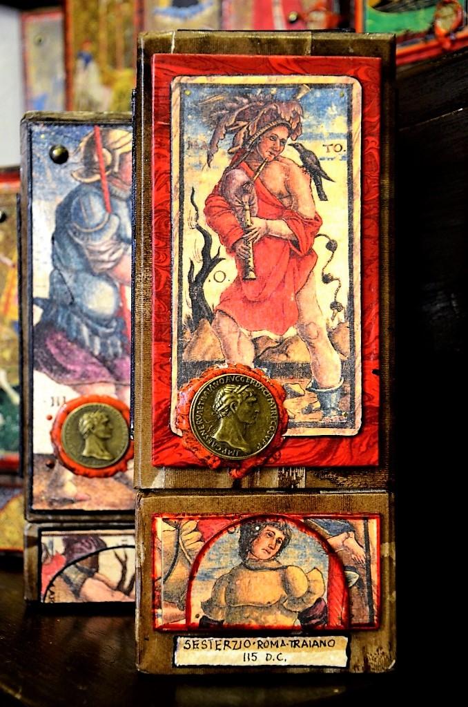 Старинная колода карт Таро
