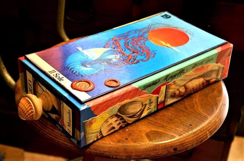 Коробка для колоды карт Таро