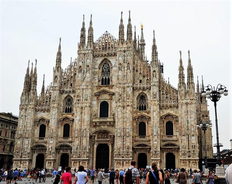 Пешком по Милану