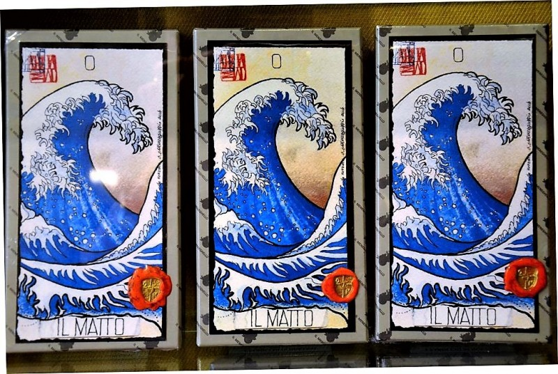 Таро ручной работы с японскими мотивами