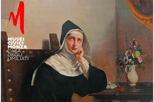 """Монахиня из Монца"" пера Giuseppe Molteni"