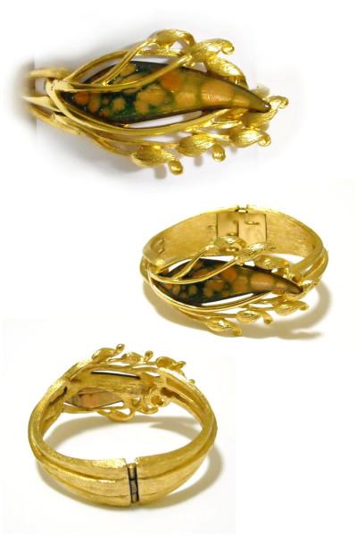 Матисс с золотом - браслет