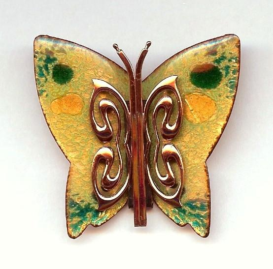 Матисс - брошь-бабочка
