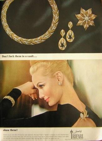 Trifari_Harpers Bazaar_Oct 1963