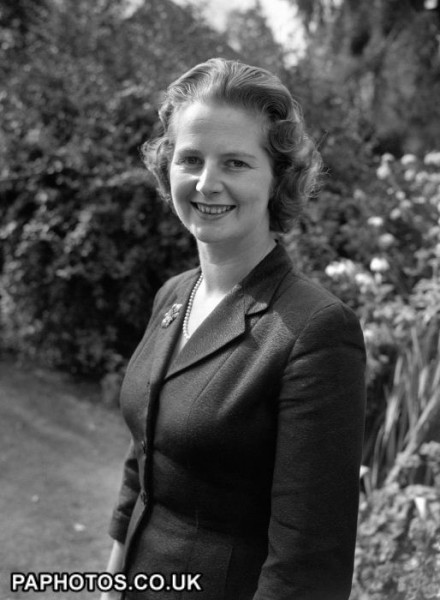 politics-margaret-thatcher-in-garden-1959