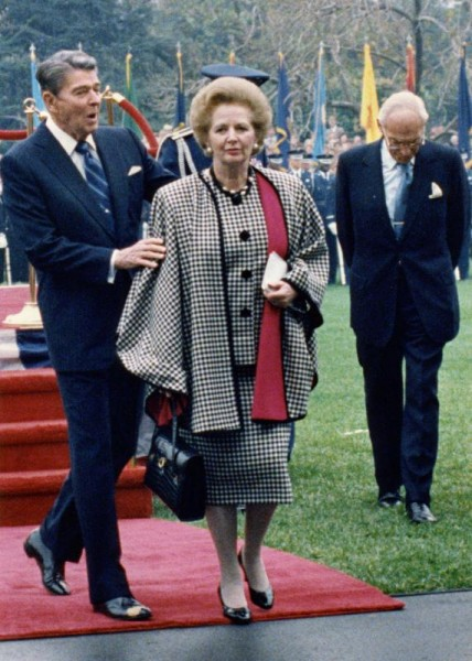 President-Reagan-welcomes-Margaret-Thatcher-to-the-White-House