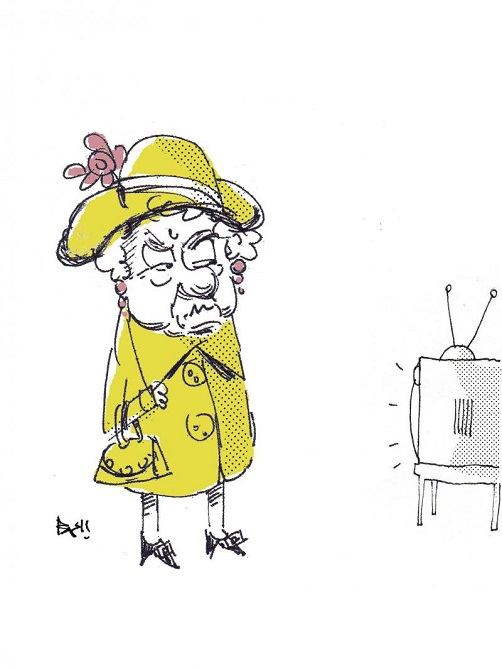 The queen doesn't want TV