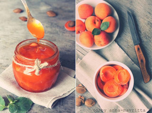 как сварить варенье из абрикосов , сколько надо сахара на кг