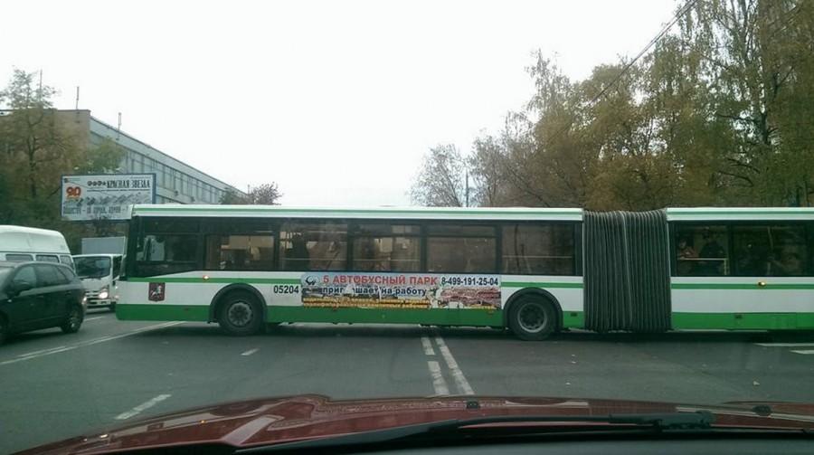 две сплошные автобус