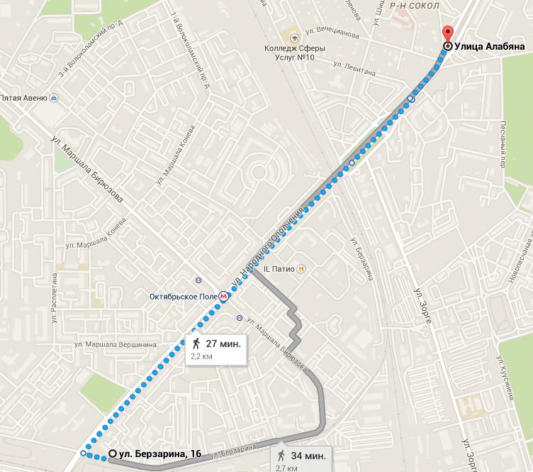 АБТ расстояние между тоннелями карта