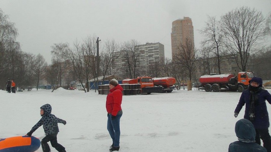 коптево снегоуборщики в парке 5