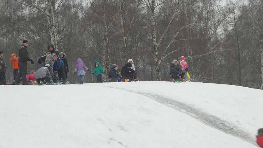 коптево снегоуборщики в парке 6