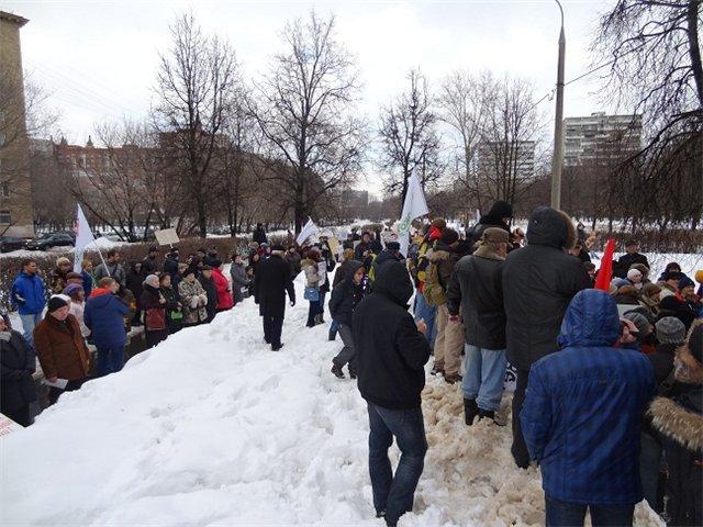 Митинг на ул.Народного ополчения_1