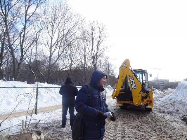 Уничтожение деревьев на ул.Народного ополчения_21