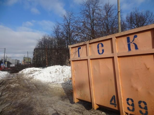 Уничтожение деревьев на ул.Народного ополчения_23