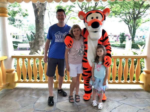 Два дня в  гонконгском Диснейленде, май 2019