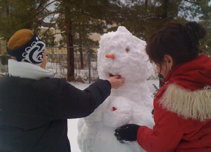 снеговик6