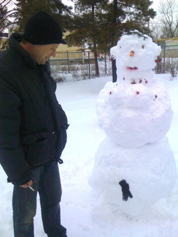снеговик9
