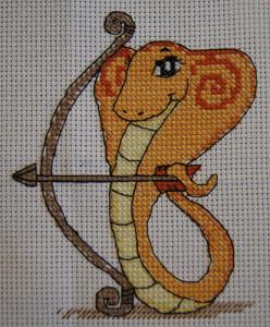 змейка-стрелец