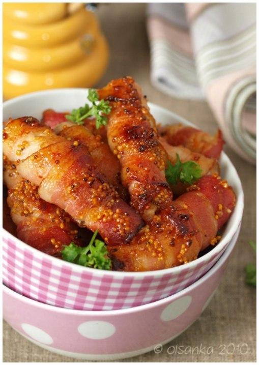 Куриная грудка в беконе рецепт