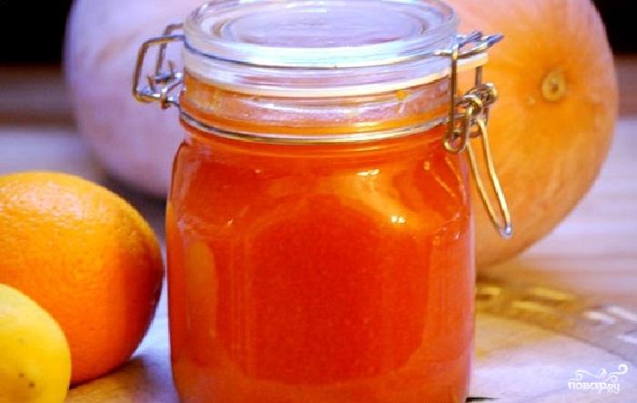 Рецепт тыквенного варенья с апельсинами