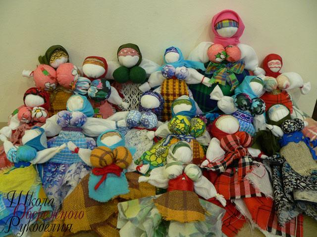 Разные виды кукол