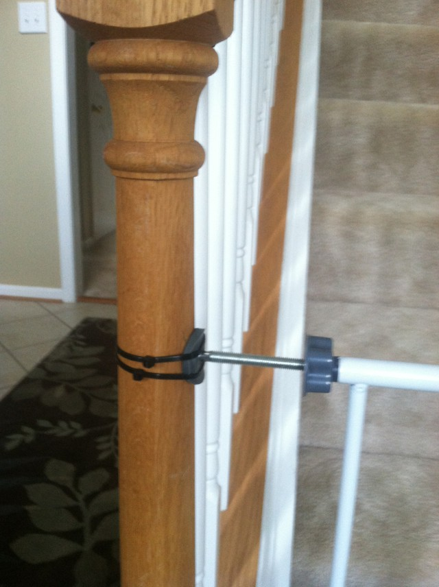 Baby Gates On Wrought Iron Railing Parenting 101
