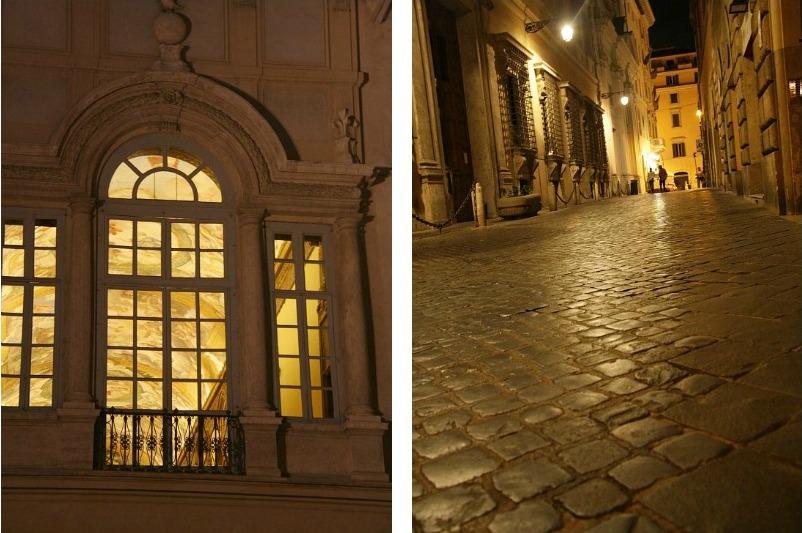 Collage окно и мостовая