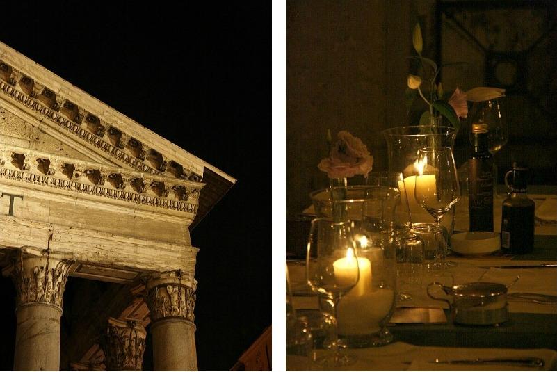 Collage пантеон и столик