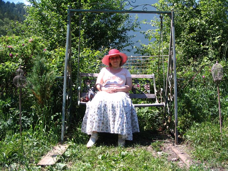 Я в Саду Пионов, лето 2014 года